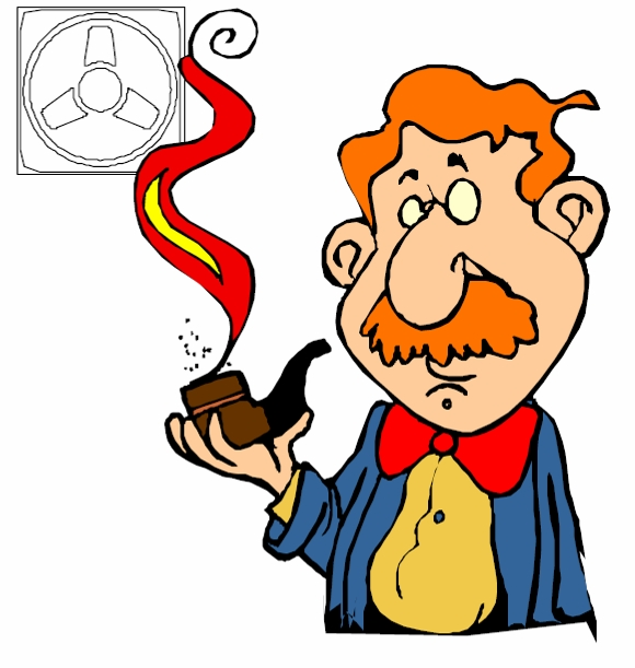 Удалять воздух из курилок нужно для того, чтобы запах табака не распространялся по всему дому
