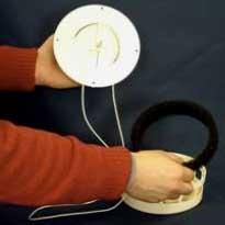 КИВ-125 клапан воздушный стеновой вентиляция квартиры