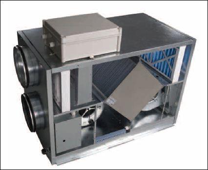 Приточно-вытяжная установкаа ВУТ-ЭГ