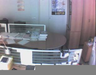 Съемка камерой видеонаблюдения
